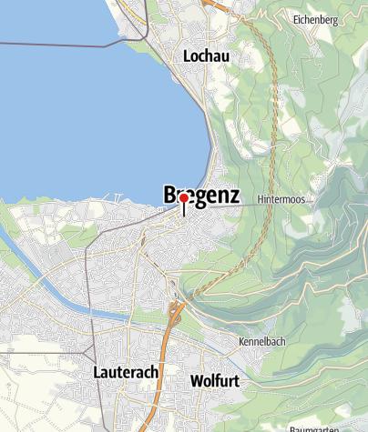 Karte / Bodensee Radreise