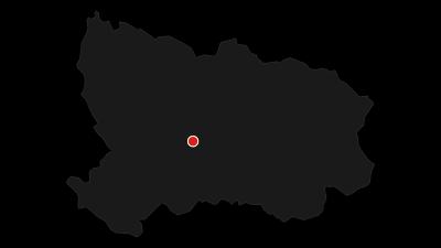Karte / Radtour über Oberbärenburg und Schellerhau