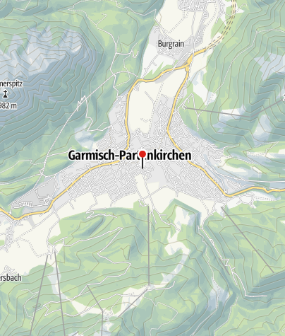 Map / Garmisch - Innsbruck - Trekking Tour on the Tirolerweg