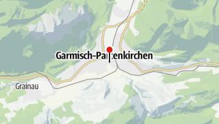 Karte / Garmisch - Innsbruck - Trekking Tour am Tirolerweg