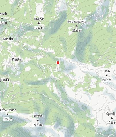 Karte / Berghütte Džambas