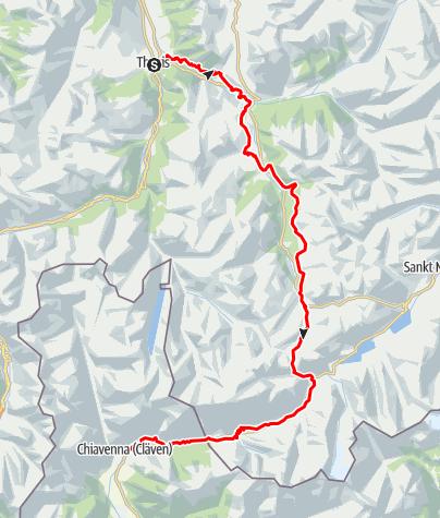 Map / Via Sett