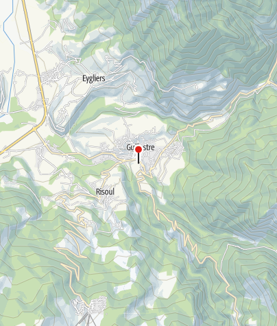 Karte / Bergwandern Französische Alpen - Queyras