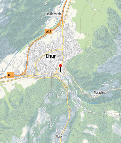 Tactile model of Chur historic centre • Tourist Information ...