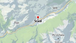 Karte / Wanderferien Nationalpark Panoramaweg