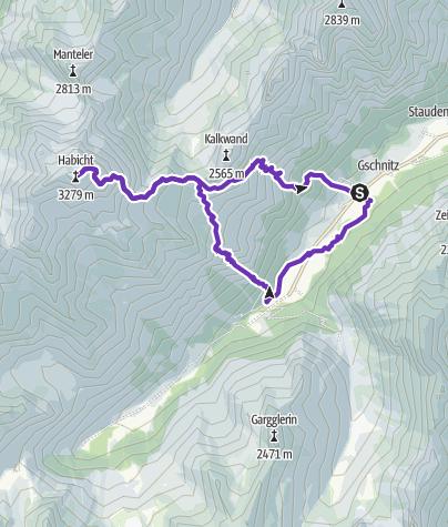 Karte / Auf den Schwingen des Habicht