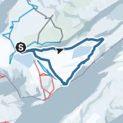 Karte / Von Melchsee-Frutt auf die Erzegg