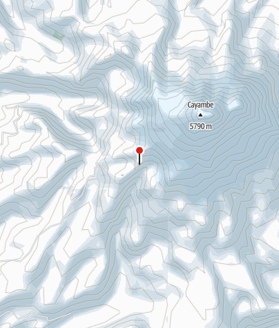 Map / Cayambe Hütte