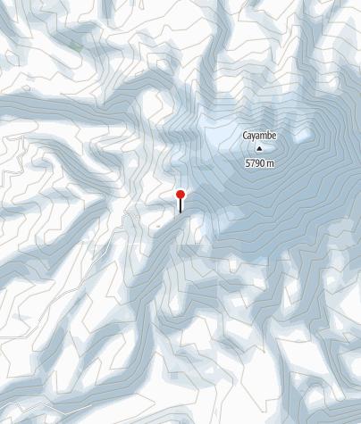 Karte / Cayambe Hütte