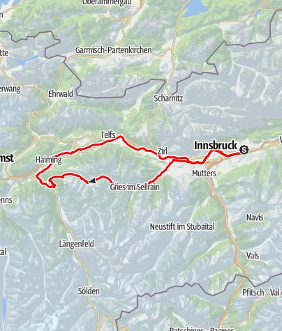 Map / Hall - Kühtai