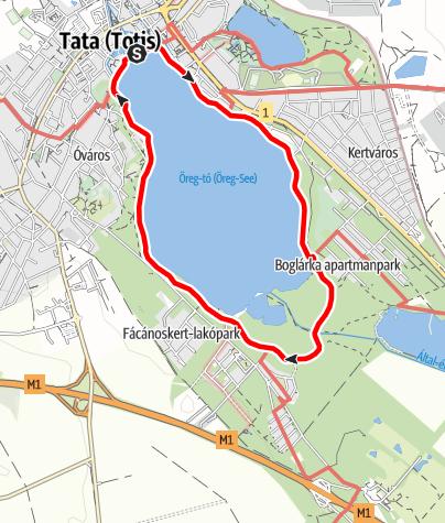 Tatai-tókör: séta a vizek városában