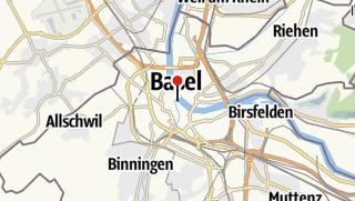 Map / Veloferien Basel - Locarno
