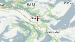 Map / Veloferien Aare-Route Meiringen - Koblenz