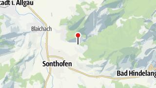 Map / Action Canyoning in der Starzlachklamm