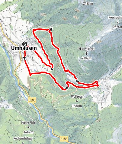 Karte / Stuiben Trail – 12K