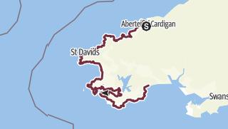 Karte / Pembrokeshire Coast Path