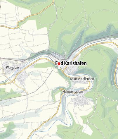 Karte / Hugenottenturm