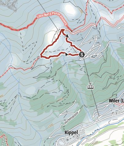 Carte / Alperlebnisweg
