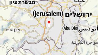 מפה / הגן הבוטני האוניברסיטאי ירושלים