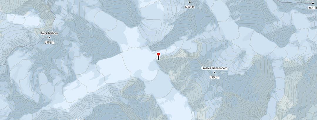 Hartă / Konkordiahütte SAC