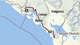 Karte /   PPT - Küstentransversale AM MEER
