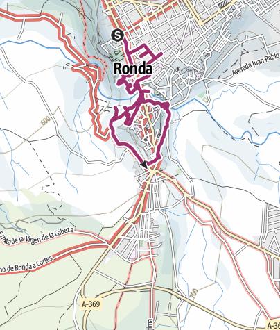 Mapa / Ronda
