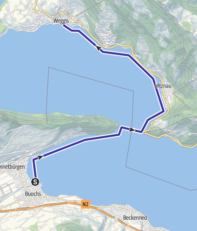 Map / Buochs-Weggis