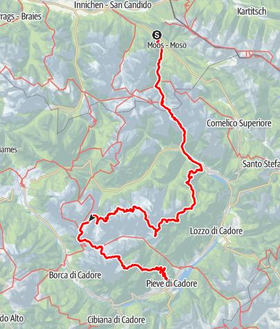 Karte / Dolomiten Höhenweg 5