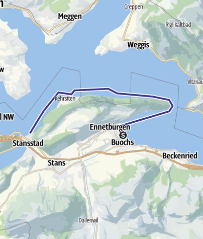 Karte / Buochs-Stansstad
