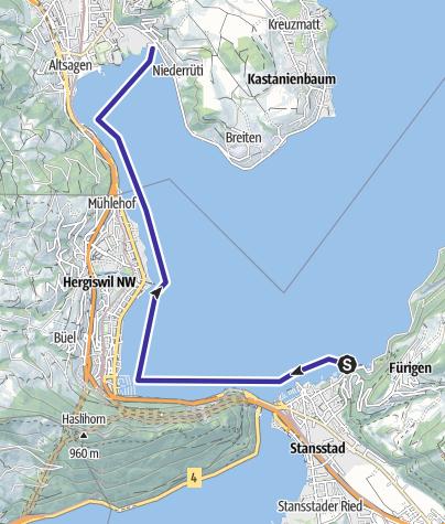 Carte / Stansstad-Horw