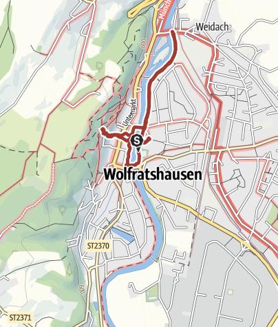 Karte / Kinderflößerpfad Wolfratshausen