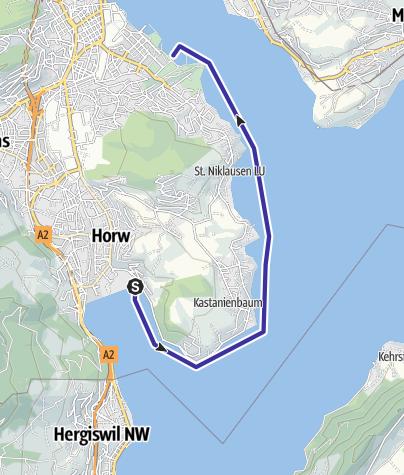Karte / Horw-Luzern