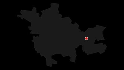 Karte / Die Entstehung des Thüringer Meeres