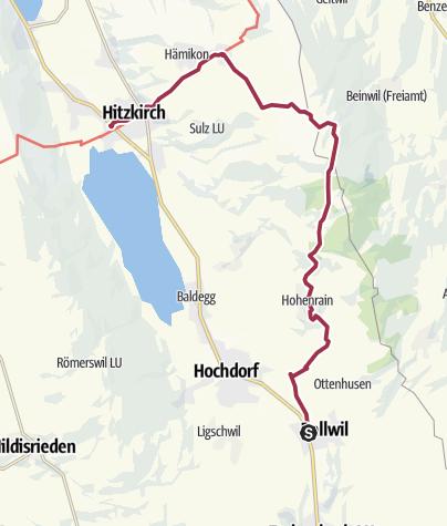 Carte / Ballwil – Horben - Hitzkirch