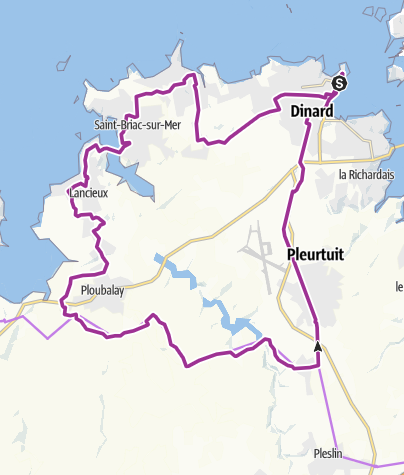 Cycle St Malo Loop Ride • Bicycle Ride » outdooractive.com
