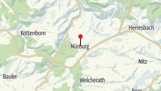 Map / Nürburg Castle