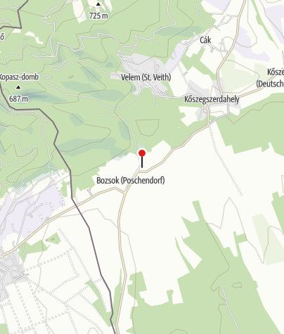 Térkép / Bozsoki kolostorrom