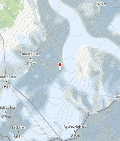 Karte / Refuge du Requin, Mont-Blanc, FFCAM