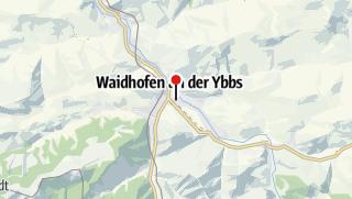 Mapa / Filmbühne Waidhofen an der Ybbs