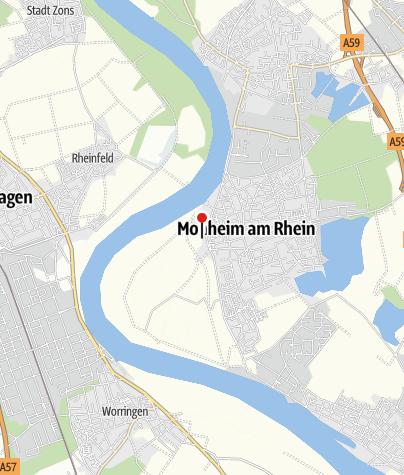 Karte / Landschaftspark Rheinbogen mit Naturerlebnispfad