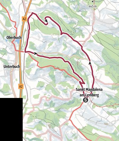 Map / M2 Buchenberg-Weg