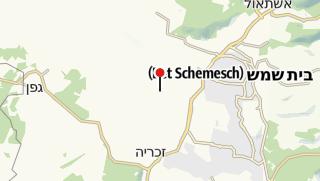 Map / Israeli Police Heritage Center