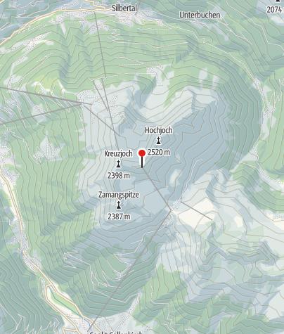 Karte / Hochalpila Bahn