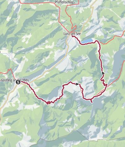 Map / Luchs Trail Etappe 11 Hochreit-Seehof, ohne Shuttle