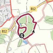 Karte / Naturerlebnisweg Isny (barrierefrei)
