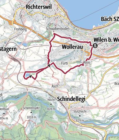 Karte / Rundweg Freyenweiher - Krebsbach
