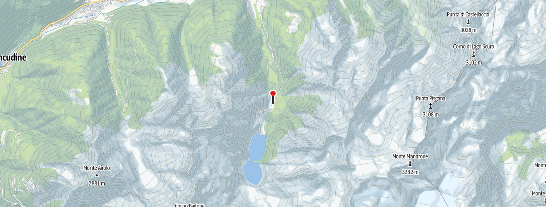 Karte / Malga Caldea