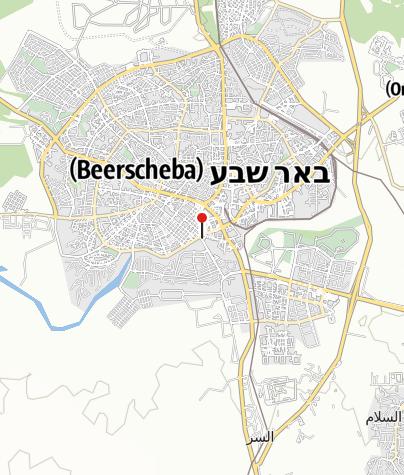 מפה / באר אברהם