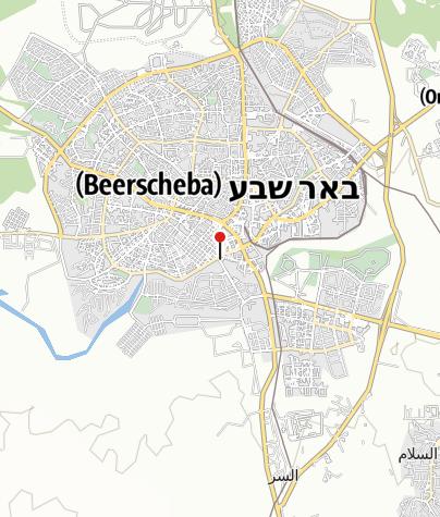 Karte / Be'er Abraham