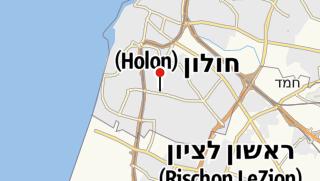 Map / The Israeli Cartoon Museum